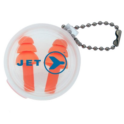 Picture of Silicone Earplug Keychain