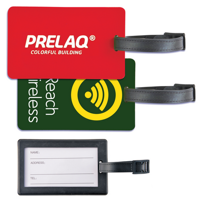 Picture of Rectangular PVC Luggage Tag