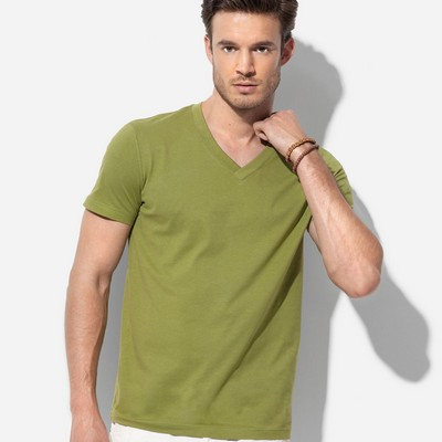 Picture of Mens Organic V-Neck