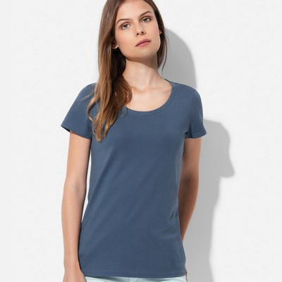 Picture of Womens Organic Crew Neck