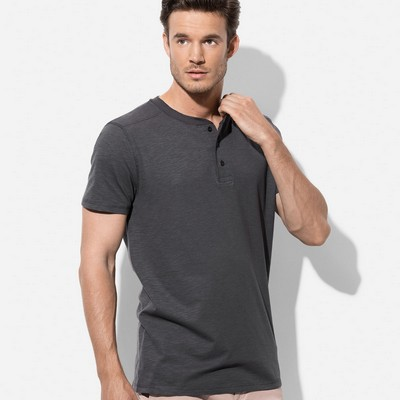 Picture of Mens Henley T-Shirt