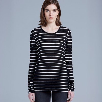 Picture of Fine Stripe Long Sleeve Tee