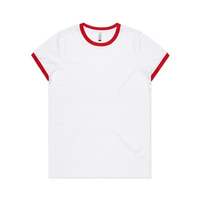 Picture of Womens Ringer Tee