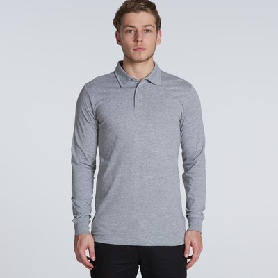 Picture of Chad Long Sleeve Polo Shirt