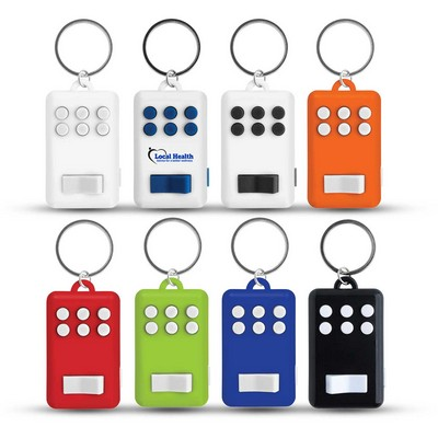 Picture of Fun Key Ring With Light