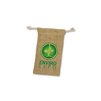 Picture of Jute Gift Bag - Small
