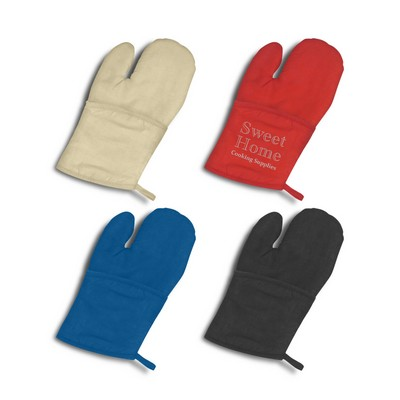 Picture of Canvas Oven Mitt