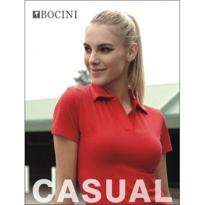Picture of Ladies Cotton Spandex Polo
