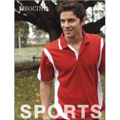 Picture of Unisex Adults Breezeway Contrast Polo