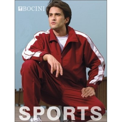 Picture of Unisex Adults Track -Suit Pants With Pip