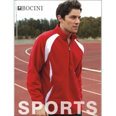 Picture of Unisex Adults 12 Zip Sports Pull OverFle