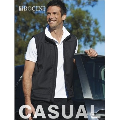 Picture of Mens Soft Shell Vest