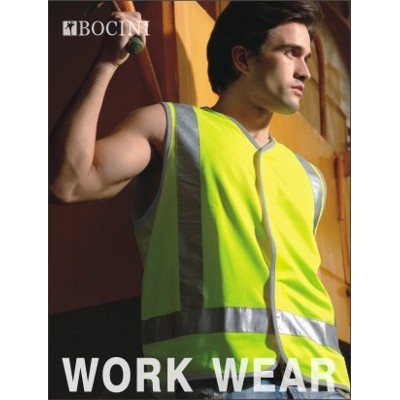Picture of Unisex Adults Hi-Vis Vest With Reflectiv