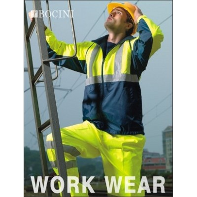 Picture of Unisex Adults Hi-Vis 3 In 1 Jacket WithR