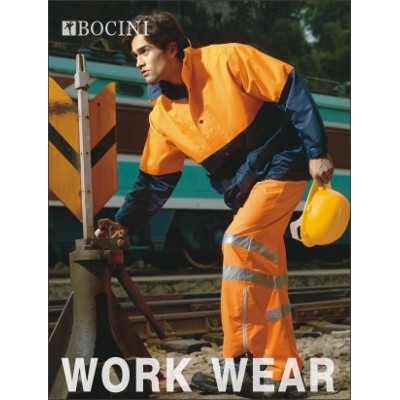 Picture of Unisex Adults Hi-Vis Pants With Reflecti