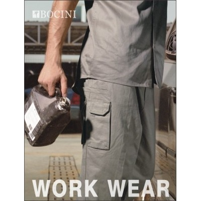 Picture of Unisex Adults Cotton Drill Cargo Pants