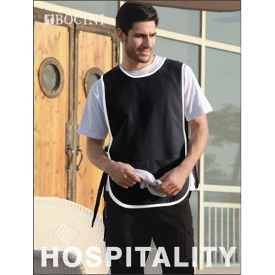 Picture of Polyester Drill Popover Apron -With Pock