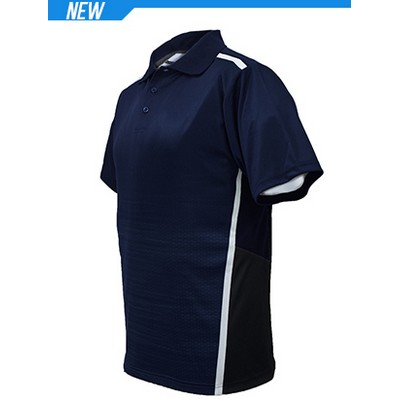 Picture of Unisex Adults Sublimated Panel Polo