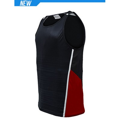 Picture of Unisex Adults Sublimated Panel Singlet