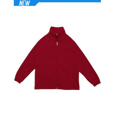 Picture of Unisex Adults PolyCotton Fleece Zip Thro