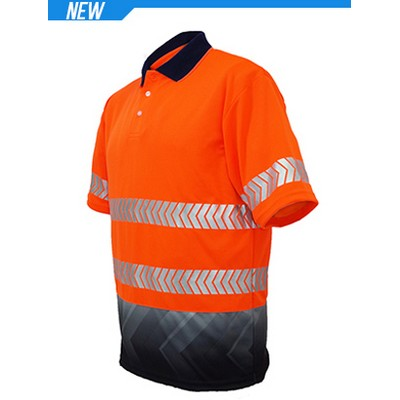 Picture of Unisex Adults Hi-Vis SS Sublimated Refle