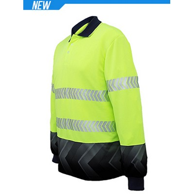 Picture of Unisex Adults Hi-Vis LS Sublimated Refle