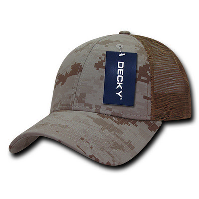 Picture of Decky Structured Camo Trucker Cap