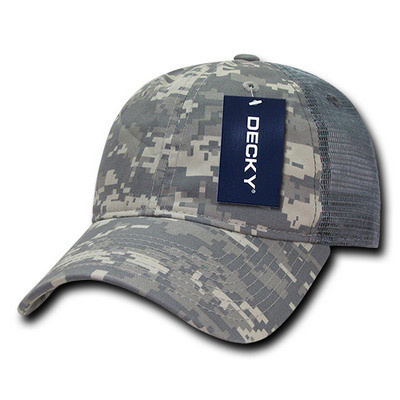 Picture of Decky Relaxed Camo Trucker Cap