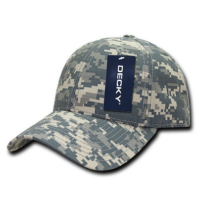 Picture of Decky Low Crown Structured Ripstop Cap