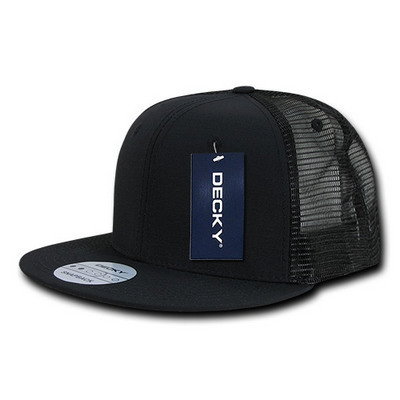 Picture of Decky Ripstop Flat Bill Trucker Cap