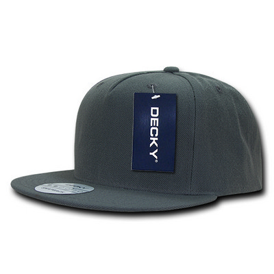 Picture of Decky FLAT Bill 5 Panel Acrylic Snapback