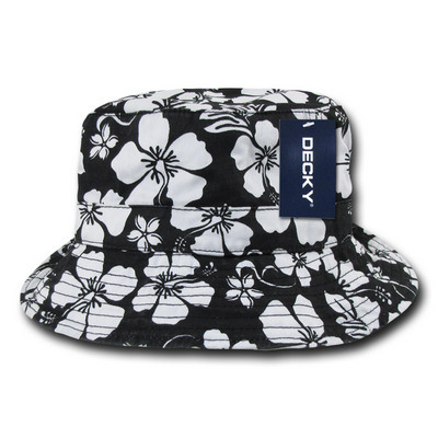 Picture of Decky Floral Polo Bucket Hat