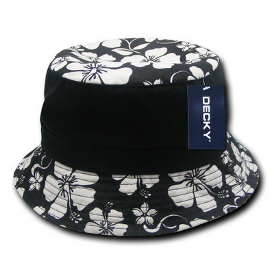 Picture of Decky Floral Brim Polo Bucket Hat