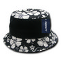 Decky Floral Brim Polo Bucket Hat
