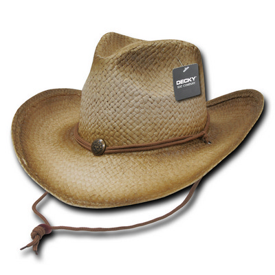 Picture of Decky Paper Straw Cowboy Hat