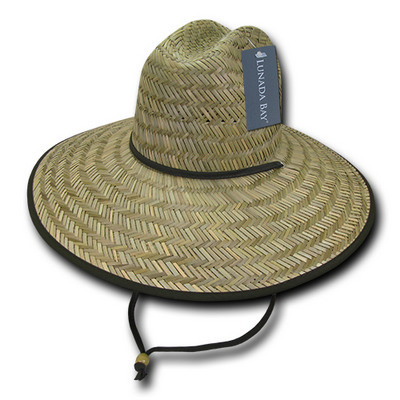 Picture of Decky Mat Straw Lifeguard Hat