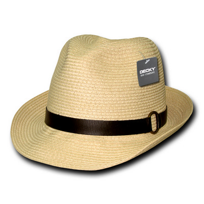 Picture of Decky Paper Braid Woven fedora