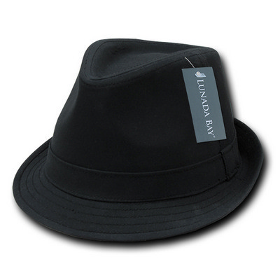 Picture of Decky Basic Poly Woven Fedora