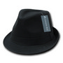 Decky Basic Poly Woven Fedora