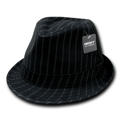 Picture of Decky Double Pinstripe Fedora