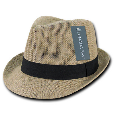 Picture of Decky Jute Fedora Hat