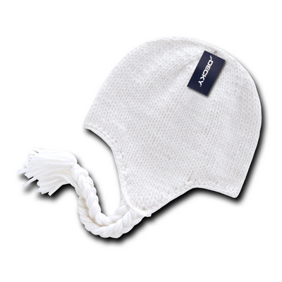 Picture of Decky Solid Peruvian Beanie