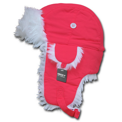 Picture of Decky White Fur Aviator Hat