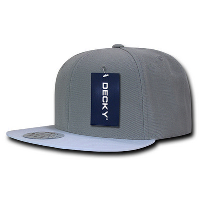 Picture of Decky Polyester Brim Snapback