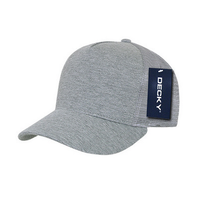 Picture of Decky 5 Panel Heather Jersey Trucker Cap