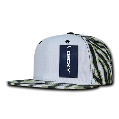 Picture of Decky Ziger White Front Snapback