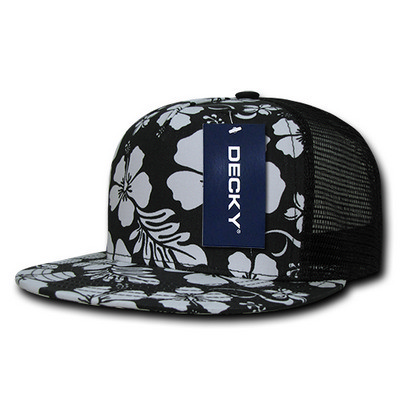 Picture of Decky Floral 5 Panel Trucker Cap