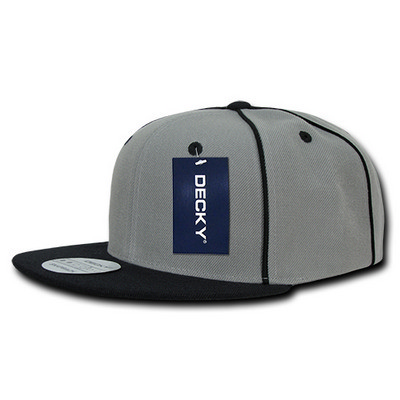 Picture of Decky Piped Crown Snapback