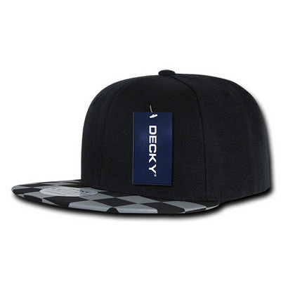 Picture of Decky Checkered Bill Snapback