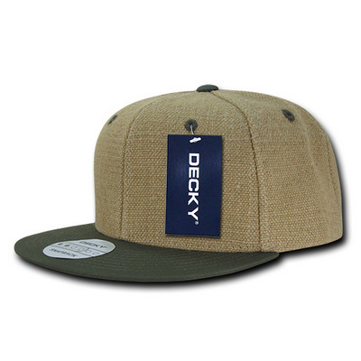 Picture of Decky Heavy Duty Jute Snapback